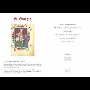 San Giorgio codice miniato s5