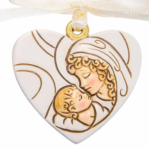 Coeur à suspendre Maternité 4 cm s1