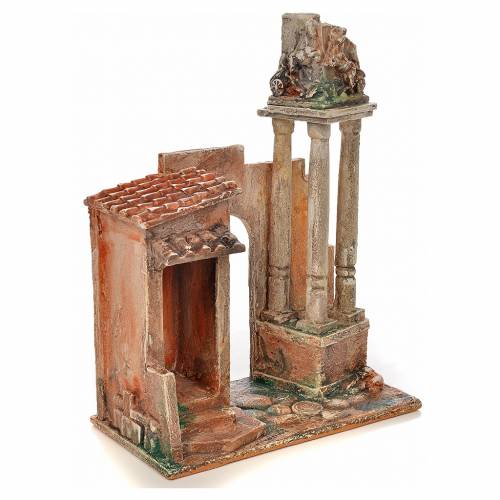 Columnas romanas pesebre Fontanini cm. 12 s2