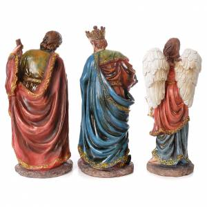 Complete nativity set in resin, 12 figurines 45cm s6