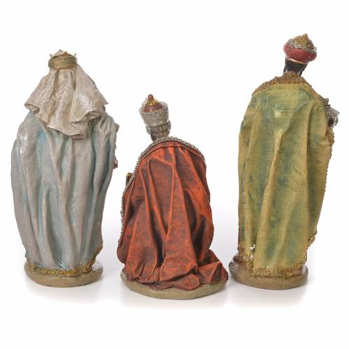 Complete nativity set in resin, 8 figurines 30cm s4