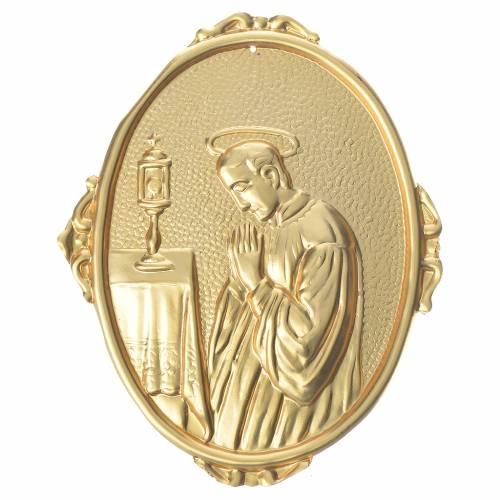 Confraternity Medal in brass, Saint Luigi s1