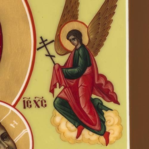 Ícono Rusia Virgen de la Pasión 27x22cm s4