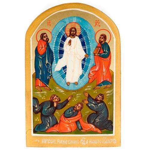 Ícono Ruso Transfiguración de Jesús 6x9 s1