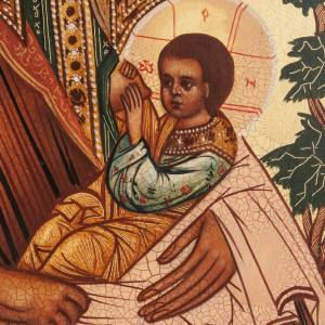 Íconos Pintados Rusia: Ícono Virgen de la Leche: la nodriza