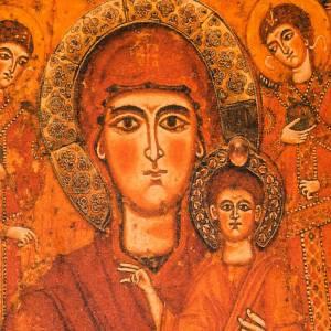 Copertina Bibbia vera pelle Madre di Dio Odigitria s2