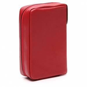 Copertina lit ore 4 vol pelle rossa Ancora Salvezza zip s3