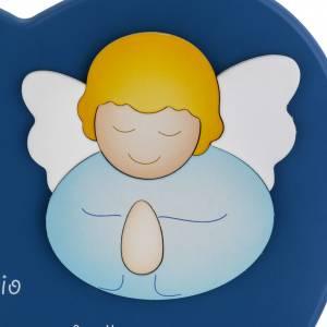 Corazón cántico ángel de Dios azul Azur Lop s2