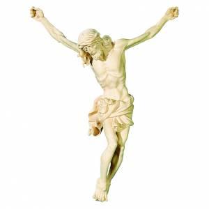 Corpo di Cristo in legno naturale s1