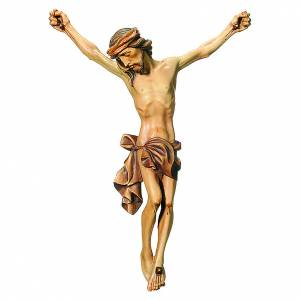 Corpo di Cristo legno dipinto finitura marrone s1
