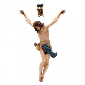 Corpo di Cristo legno Valgardena Antico Gold s1