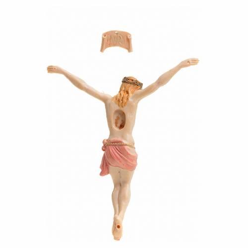 Corps du Christ pvc 9 cm Fontanini type porcelaine s2