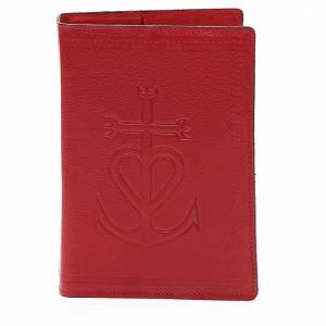 Couverture Bible Jérus. cuir rouge Ancre du Salut s1