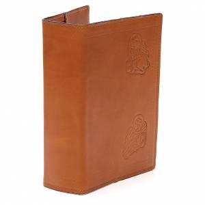 Couverture Bible Jérusalem 4 Évangélistes cuir brun s4