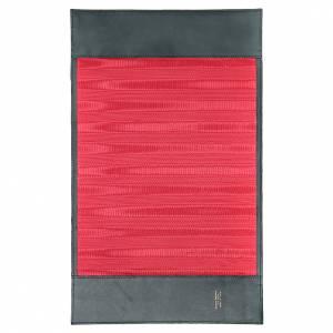 Couverture lectionnaire des Saints Alpha Oméga vert cuir s3