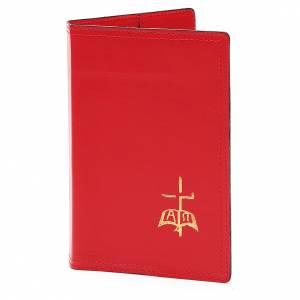 Folders sacred rites: Cover for Sacred rites in red leather, A5
