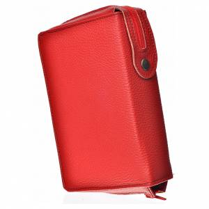 Divine Office covers: Cover for the Divine Office in red bonded leather