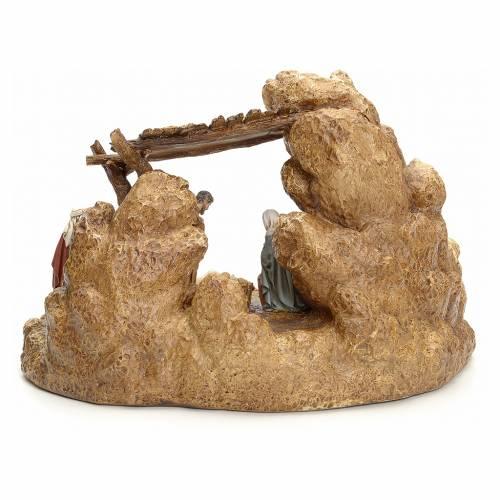 Crèche avec étable 11 cm Landi s4