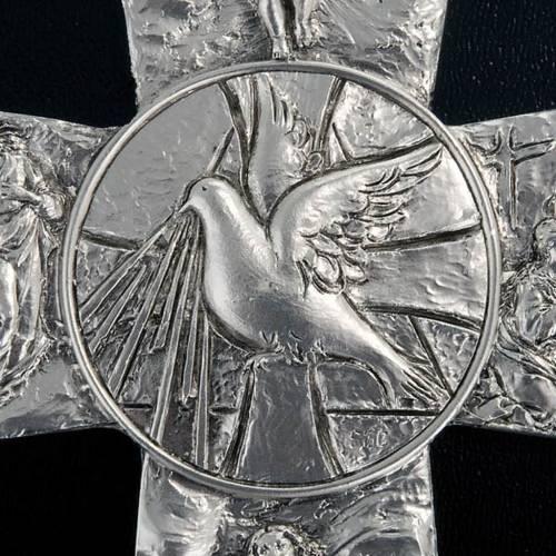 Croce argentata deposizione resurrezione ascensione Sp. Santo s2