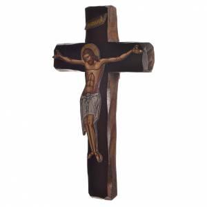 Croce Icona  Rilievo stampa su legno Grecia 22x13 s2