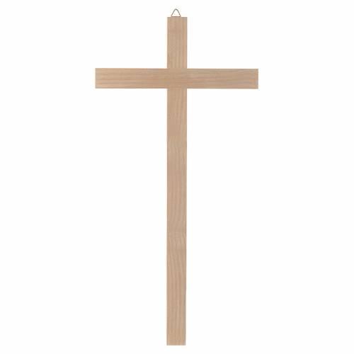 Croix en bois naturel s1