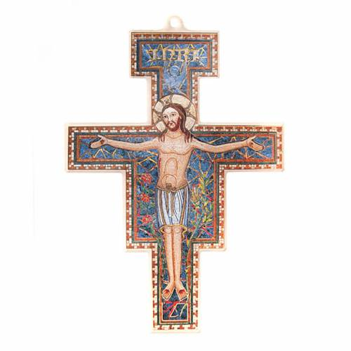Crucifijo San Damián plexiglás 1
