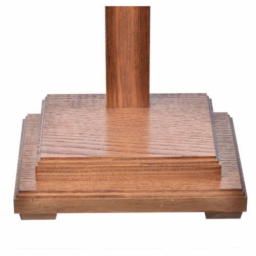 Crucifix à poser bois Ancien Or Corpus s6