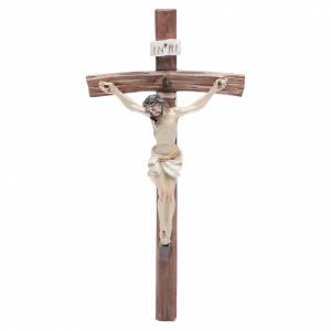 Crucifix en plexiglass et verre: Crucifix résine 19x10 cm