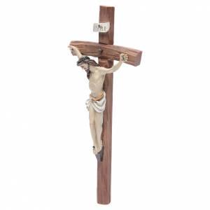 Crucifix résine 29x13 cm s2
