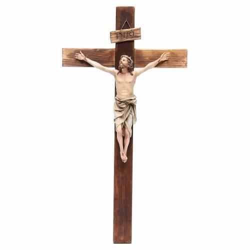 Crucifix terre cuite 45x24 cm Angela Tripi s1