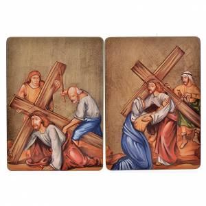 Cuadro 15 Estaciones Vía Crucis madera s4