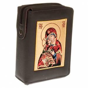 Custodia Bibbia di Gerusalemme immagine Madonna di Vladimir s1