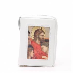 Cust. Bibbia Gerus. Ultima Cena Giotto bianca Pictografia s1