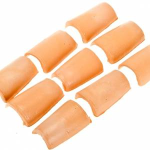 Hauszubehör für Krippe: Dachziegeln Plastik Krippe 24 Stuecke