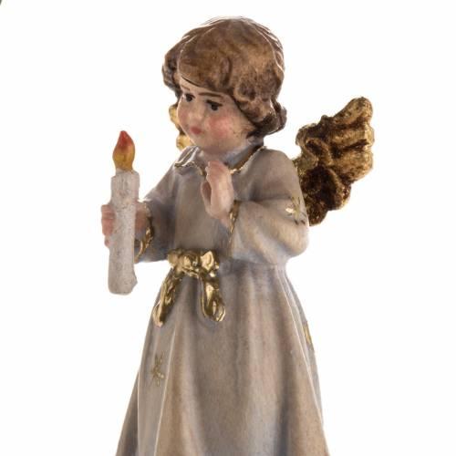 Décoration Noël ange avec bougie étoile s6