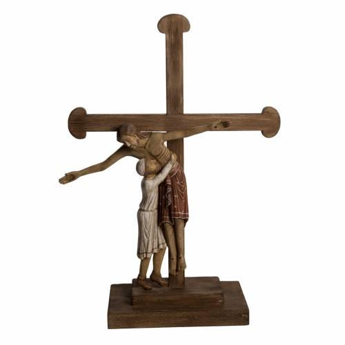Déposition du Christ 72 cm bois Bethléem s1