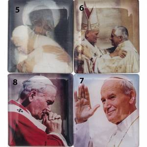 Electronic Rosary and Via Crucis: Digital Rosary John Paul II with Litanies, blue