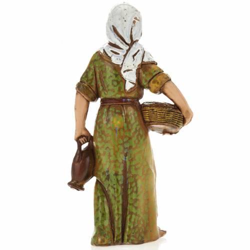 Donna con cesto 8 cm Moranduzzo s2