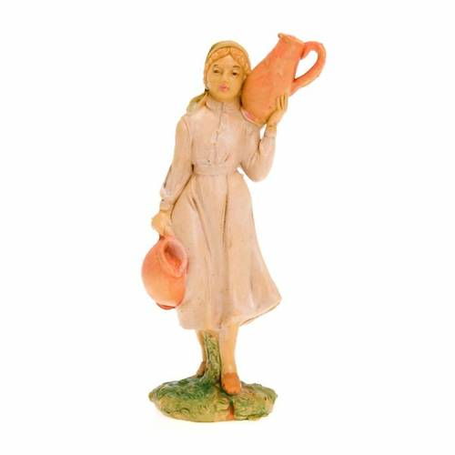 Donna con due anfore 10 cm 1