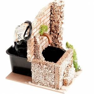 Dot-it-yourself natvity set, motorized fountain with bricks  2wa s3