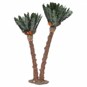 Double palm for nativity scene in cork, 40cm s2