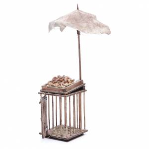 Egg stall with umbrella for Neapolitan Nativity, 24cm s2