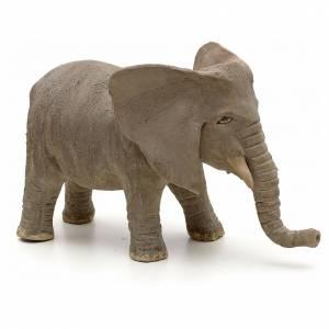 Belén napolitano: Elefante 10 cm pesebre napolitano