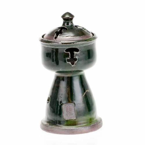 Ethiopian coloured incense-burner s3