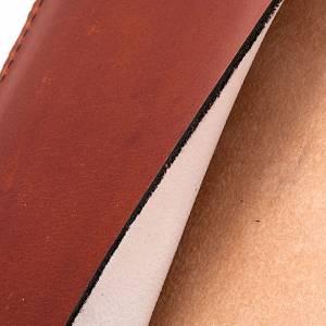 Etui lectionnaire, cuir, icône pantocrate s6