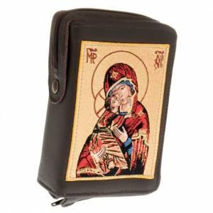 Couvertures liturgie des heures vol. unique: Etui liturgie volume unique vierge de Vladimir