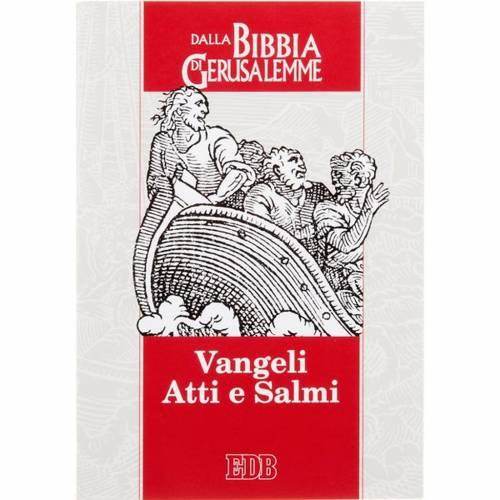Evangile et acte des apôtres et psaumes bible ITALIEN s1