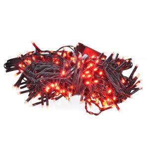 Christmas lights: Fairy lights 240 mini LED, red, for in/outdoor use programmable