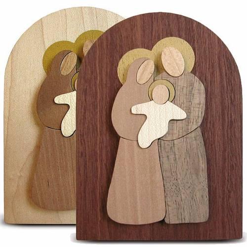 Favorable Azur, en bois, sainte famille s1
