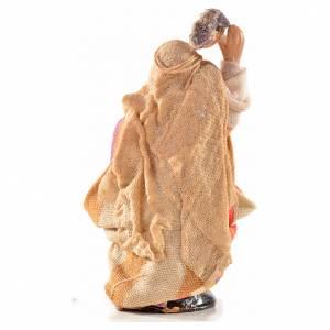 Femme arabe au linge crèche Napolitaine 6 cm s2